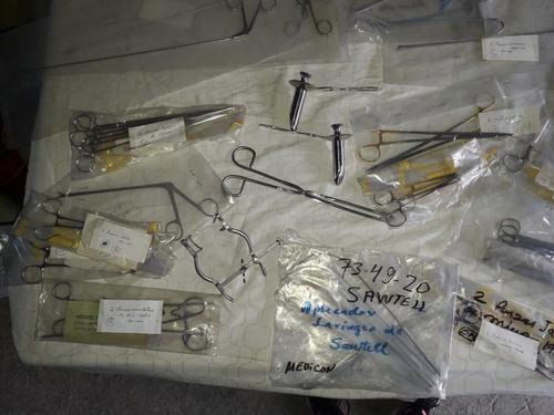 kit instrumentos quirurgicos