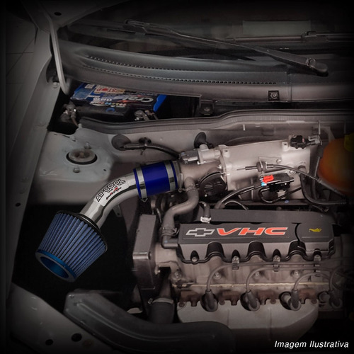 kit intake air cool com filtro esportivo corsa celta gm