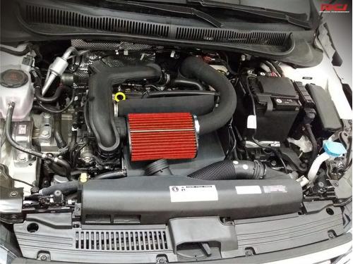 kit intake cai golf tsi 1.0 turbo filtro esportivo completo