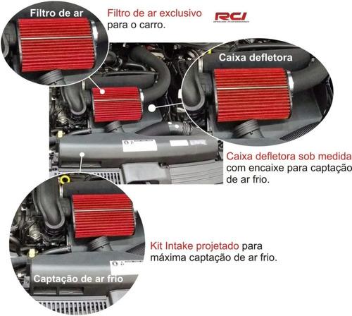 kit intake polo virtus tsi 200 1.0 todos rci067 racechrome