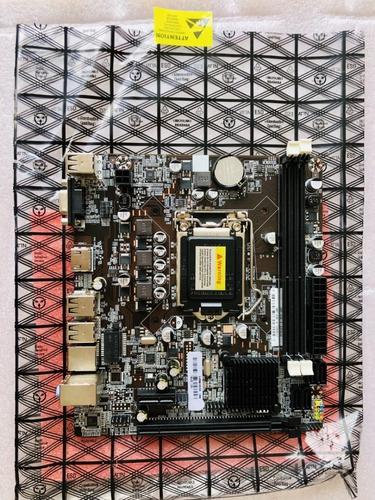 kit intel core i5 2400 3.1 ghz + placa h61 + 8gb ram promoç