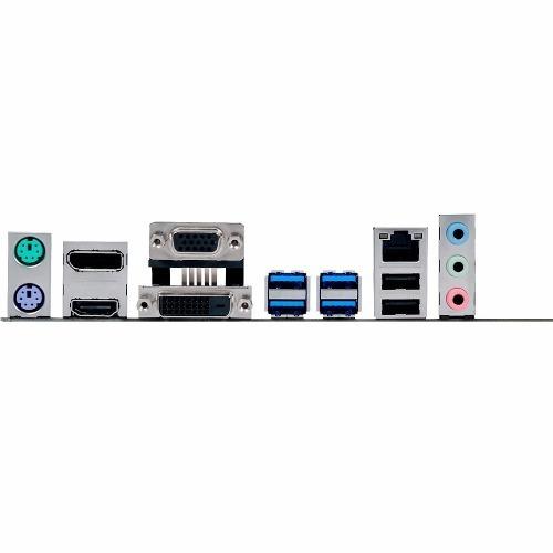 kit intel core i5 lga 1151 i5 7400 placa mãe b150m-c/br ddr4