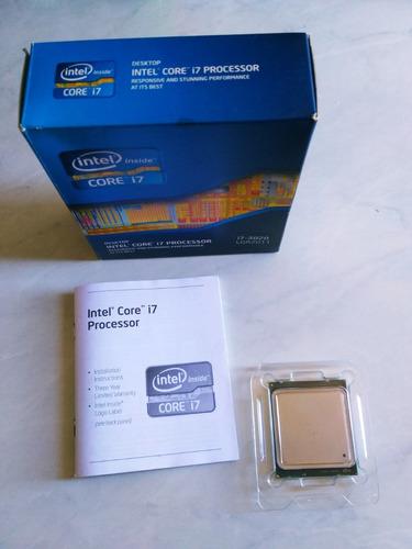 kit intel core i7-3820 3.6ghz socket lga2011 + 16gb corsair