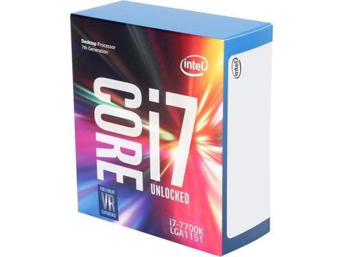 kit intel core i7 7700k asus prime z270m plus fury 2x4 ddr4