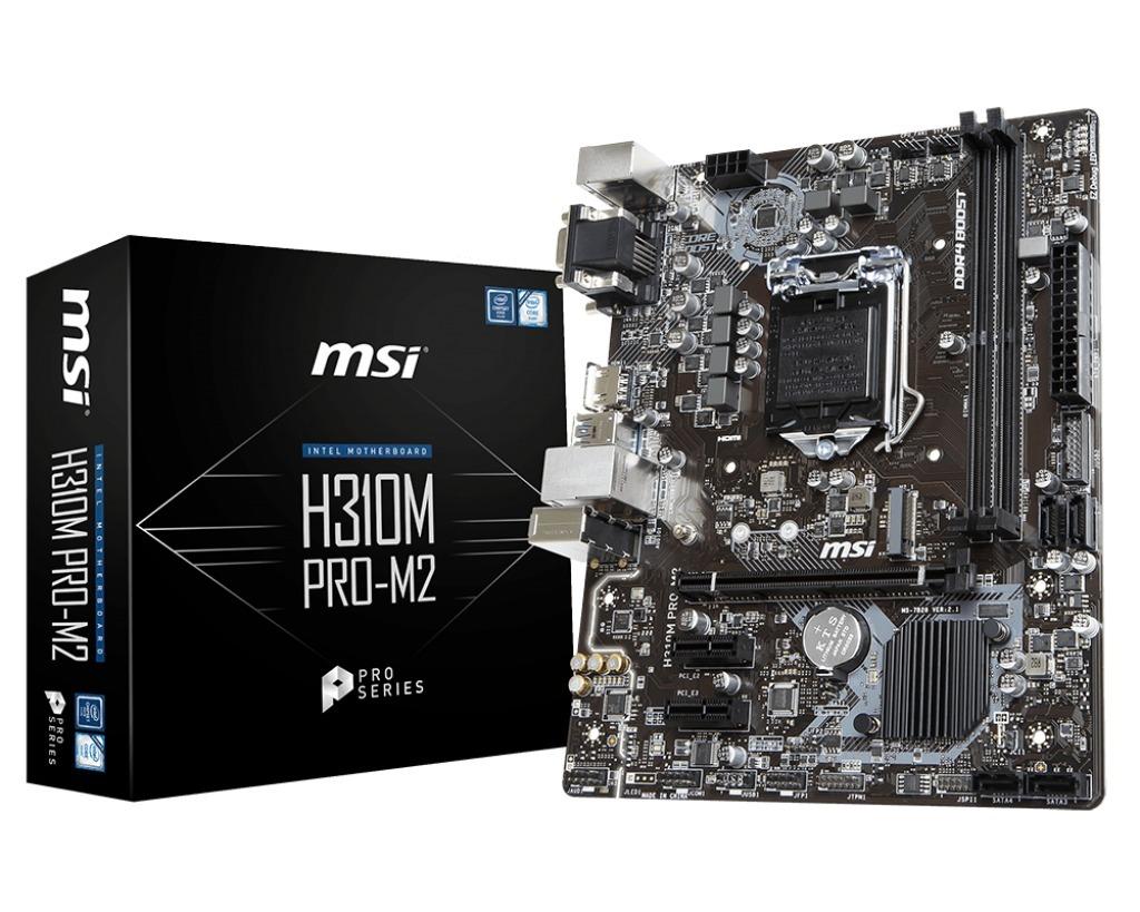 Kit Intel I3 8100 Msi H310m Pro M2 16gb Ddr4 2400mhz R 2058 Cofeelake Series Carregando Zoom