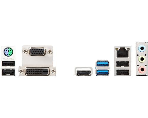 kit intel i5 8400 + h310m-pro vdh+ crucial 8gb 2400mhz + nf