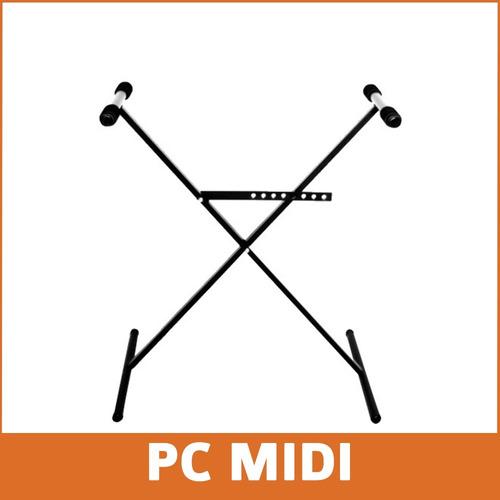 kit interfaz midi hsr 2.0 + soporte teclado piano yamaha