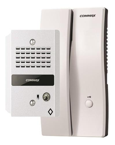 kit interfon commax con auricular y frente de calle audio