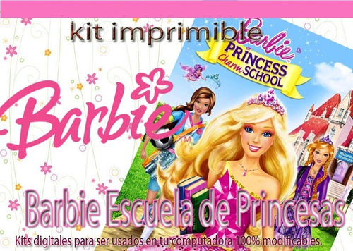 Tarjetas De Invitacion Barbie Princesa En Mercado Libre Uruguay