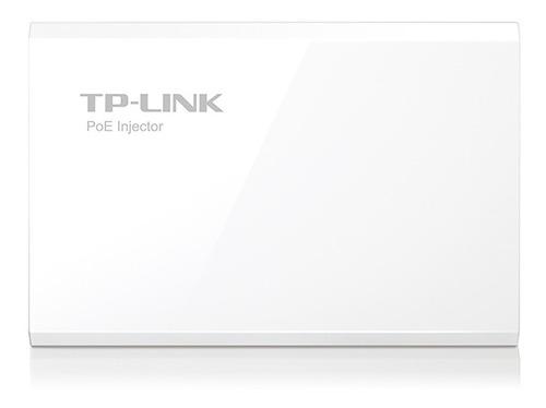 kit inyector + splitter poe tp link poe200 100m pnp oficial