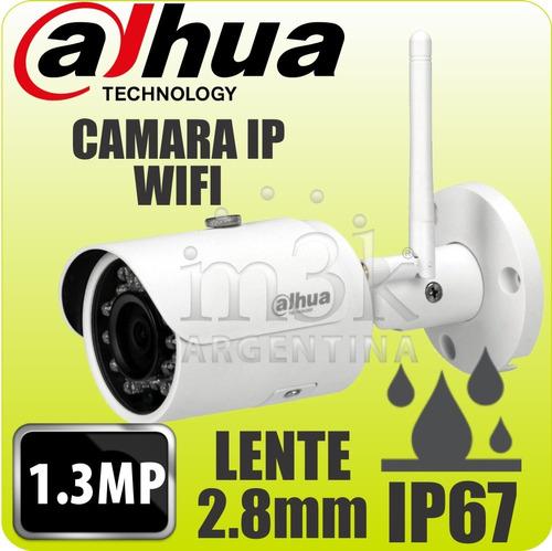 kit ip inalambrico dahua 6 camaras ipc-hfw1120s-w wifi 1.3mp
