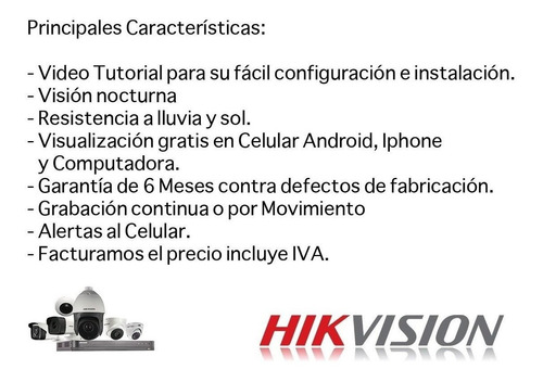 kit ip wifi 2mp/ 1 nvr wifi 4 canales / 4 camaras bala wifi