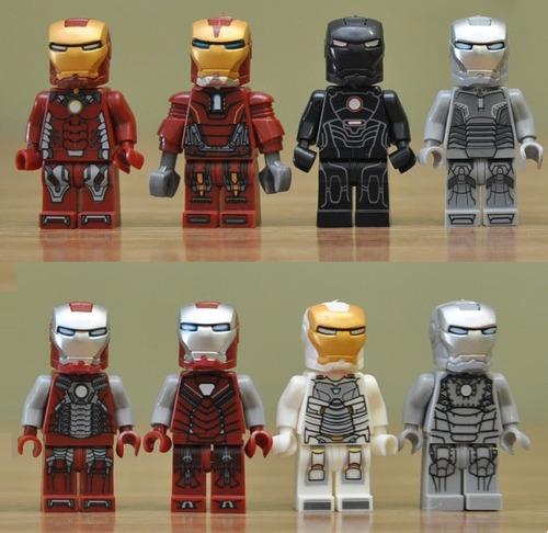 kit iron man - homem de ferro - os vingadores - marvel