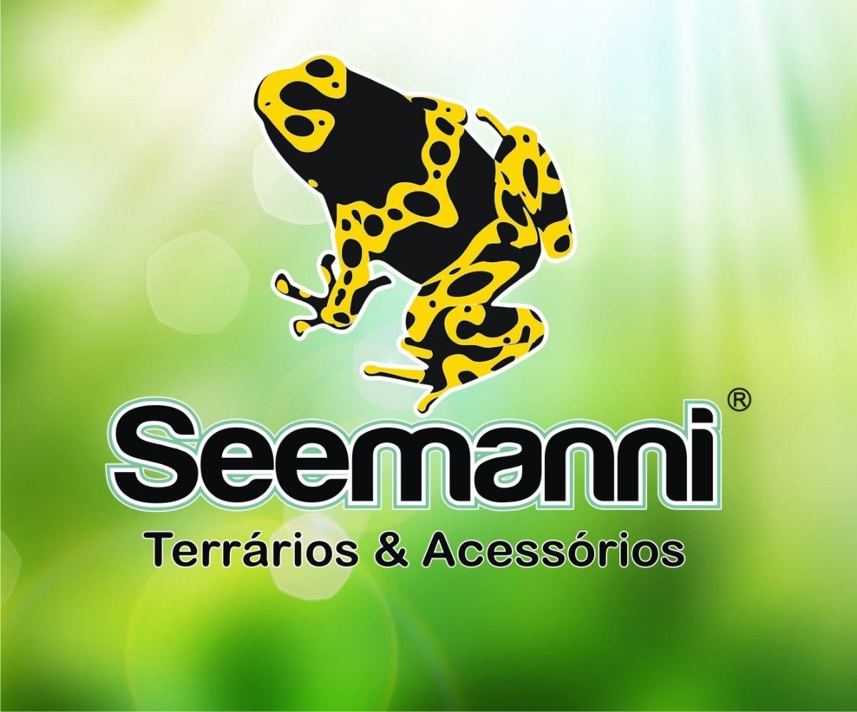 af59daad80d04 Kit Jabuti Nº1-toca+comedouro+bebedouro- Seemanni Terrários - R  238 ...