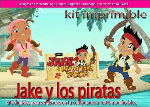 kit jake los piratas