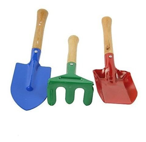 kit jardineria jardin kinder mini para niños