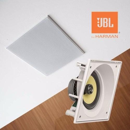 kit jbl angulada ci6sa frontal caixa embutir teto gesso 3 ud