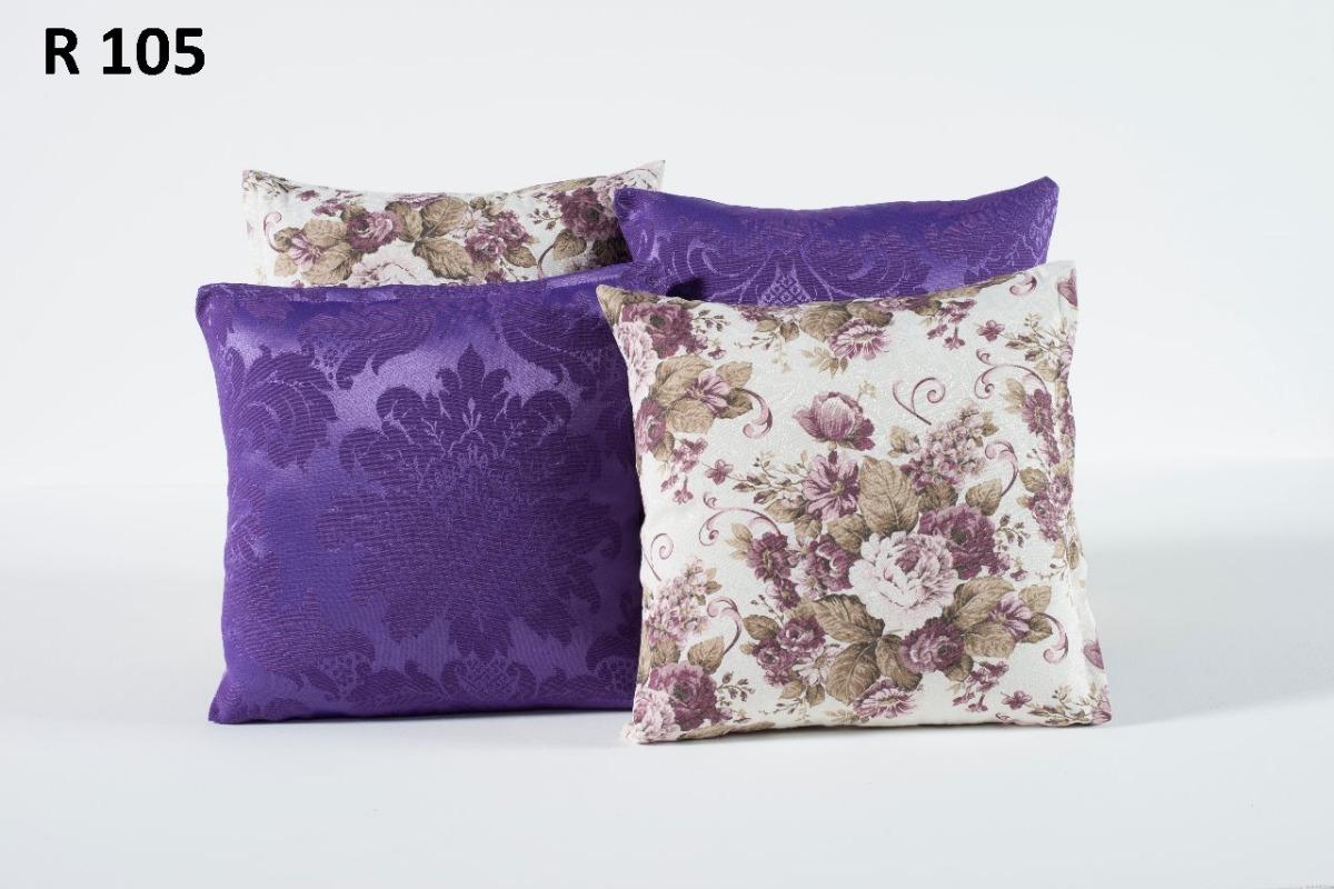 522030e43 kit jogo 6 capas de almofadas decorativas listradas florido. Carregando  zoom.