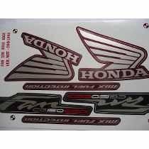 kit jogo adesivo faixa moto 150 fan esdi 2012 12 vermelha mt