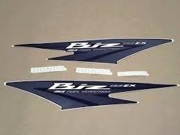 kit jogo adesivo honda biz 125 ex  2011 azul  frete r$9,90