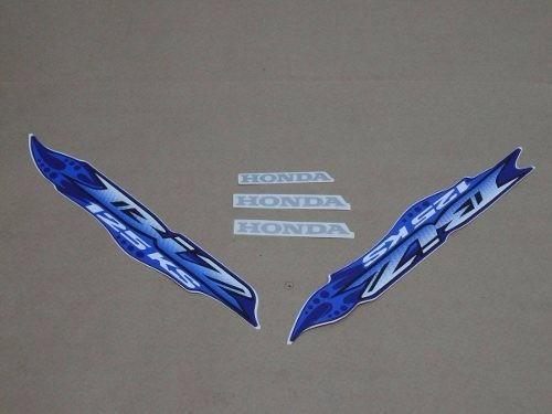kit jogo adesivo honda biz 125 ks 07 azul frete r$9,90
