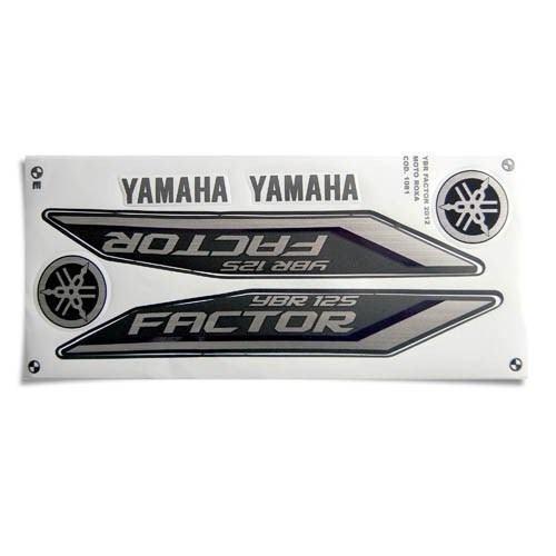 kit jogo adesivo yamaha factor 2012 roxo