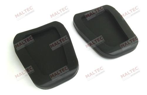 kit jogo capa pedal freio + embreagem new ka fiesta ecosport