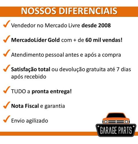 kit jogo capas borracha pedal freio embreagem s10 após 2012