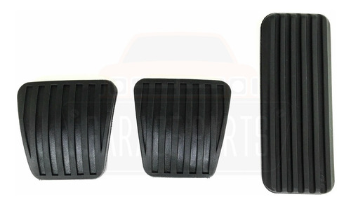 kit jogo capas pedal completo celta prisma g1 corsa classic