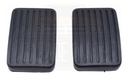 kit jogo capas pedal freio e embreagem jac j3 / j3 turin