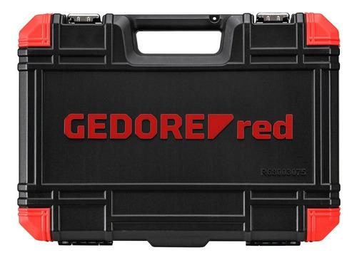 kit jogo de chave torx com 75 peças r68003075 gedore red