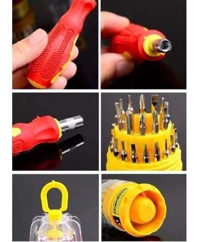kit jogo de chaves precisão 31 pçs para manutenção reparos