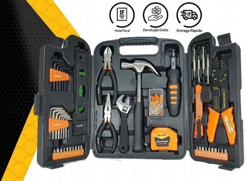 kit jogo de ferramentas 129 peças + maleta sparta