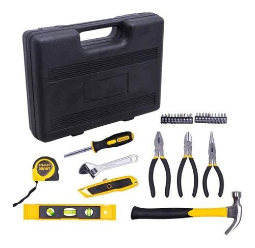 kit jogo de ferramentas stanley com 29 peças + maleta