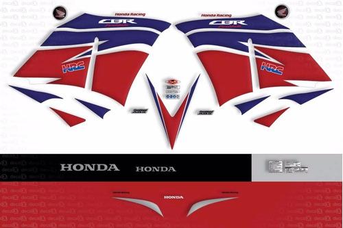 kit jogo faixa adesivo honda cbr 1000rr 2013 hrc fireblade
