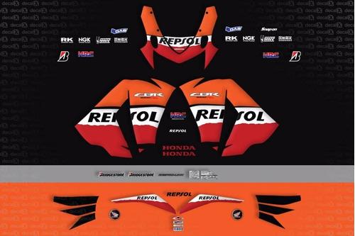 kit jogo faixa adesivo honda cbr 1000rr repsol 2011 racing