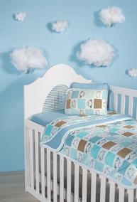 3bbbcafb41 3 Jogos Lençol Berço Americano Bebê Malha 3 Pçs 100%algodão