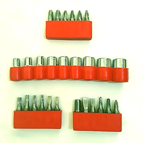 kit jogo soquete ferramentas 28 peças fenda philips cachimbo