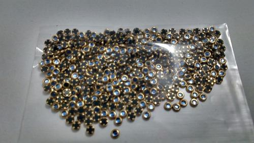 kit jóias meia pérolas strass caviar olho de gato dome