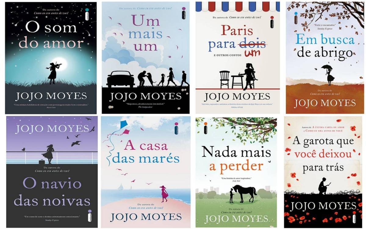 Kit Jojo Moyes 8 Livros - Novos E Lacrados - Frete Grátis - R  254,90 em  Mercado Livre ff1f1d19fb