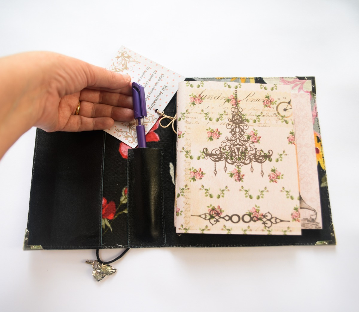 kit journaling mini planner bullet journal r 99 00 em mercado livre. Black Bedroom Furniture Sets. Home Design Ideas