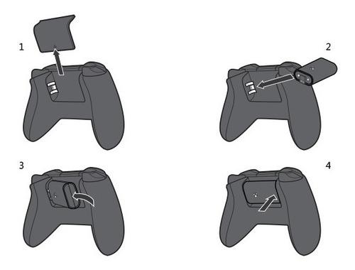 kit juega y carga  -  xbox one  -  bateria interna oficial