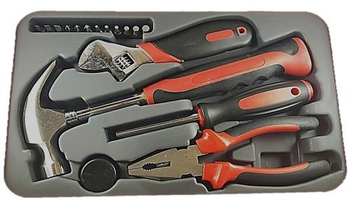 kit juego caja de herramientas 17 piezas caja pvc maranello
