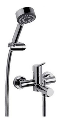 kit juego griferia ducha fv exterior duchador baño flexible