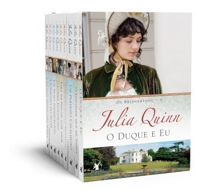 kit  julia quinn - série os bridgertons  9 volumes