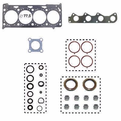 kit junta motor superior aço c/re fox bah bja blh 1.6 8v 03/