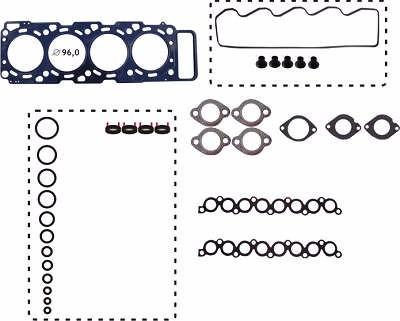 kit junta motor superior aço nissan x-terra mwm 4.07 2.8 12v