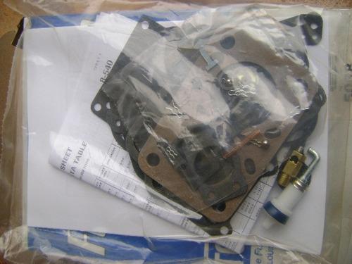 kit junta reparo carburador tomco americano