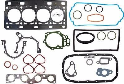 kit junta retifica motor aço peugeot 206 1.0 16v d4d 01/07