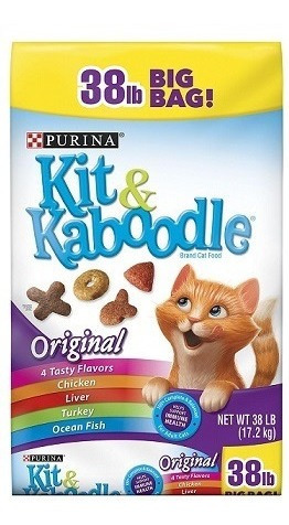 kit & kaboodle (alimento para gatos) 17.2 kg